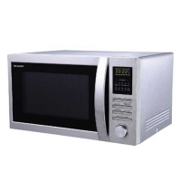 Sharp Double Grill Convection Microwave Oven R-84A0-ST-V.
