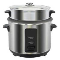 Vision Color SS Rice Cooker Gray