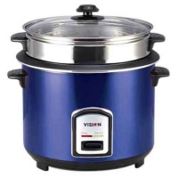 Vision RC-1.0 L-100 SS Blue (Single Pot) Rice Cooker