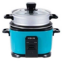 Vision Rice Cooker 1.8 L Elegant (Blue) Two Pot VE