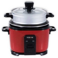 VISION Rice Cooker 1.8 L Elegant (Red) Two Pot VE